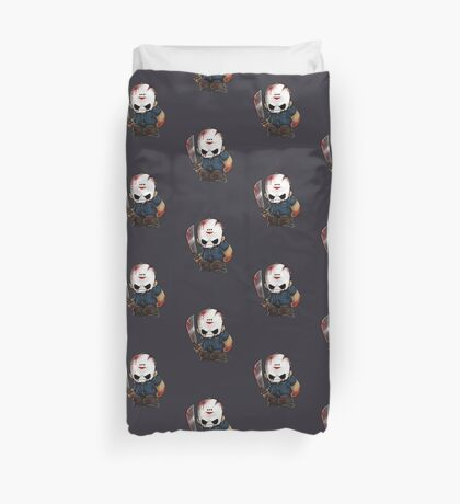 Jason Vorhees Duvet Cover