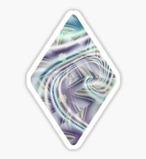 Abstract Shards Fractal  Sticker