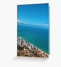 Brazil Beach Greeting Card