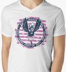 Eagle of Love T-Shirt mit V-Ausschnitt für Männer