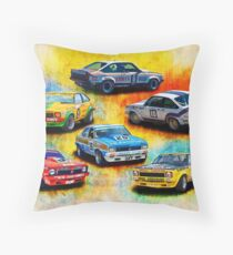 Group C Holden Toranas Throw Pillow
