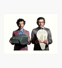 Flight of the Conchords - Jemaine and Bret Art Print