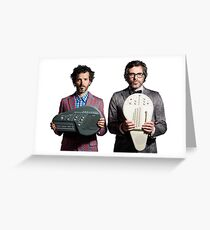 Flight of the Conchords - Jemaine and Bret Greeting Card
