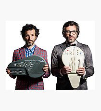 Flight of the Conchords - Jemaine and Bret Photographic Print
