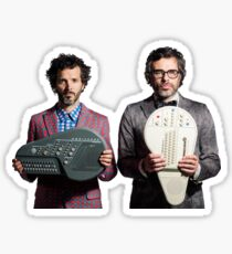 Flight of the Conchords - Jemaine and Bret Sticker