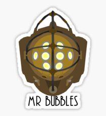 Mr Bubble's Sticker