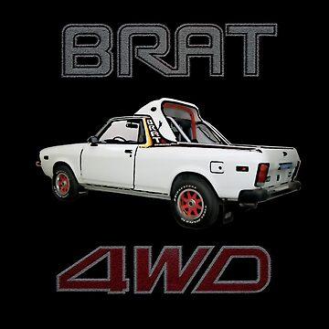 Subaru Brat by 94alexm