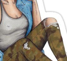 Camo Jeans Sticker