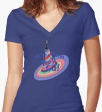 Oh, the Places You'll GO! Women's Fitted V-Neck T-Shirt