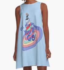 Oh, the Places You'll GO! A-Line Dress