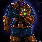 Thanos by Rick  Marin