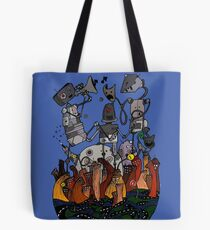 Big robots Tote Bag