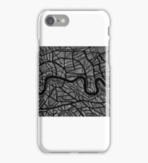 Sketch of The River Thames iPhone Case/Skin