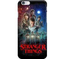 Stranger Things Black iPhone Case/Skin