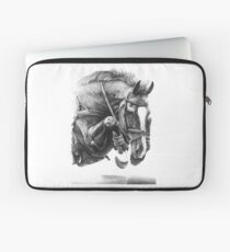 Catching Air - Showjumping Horse Laptop Sleeve