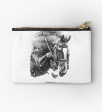 Catching Air - Showjumping Horse Studio Pouch