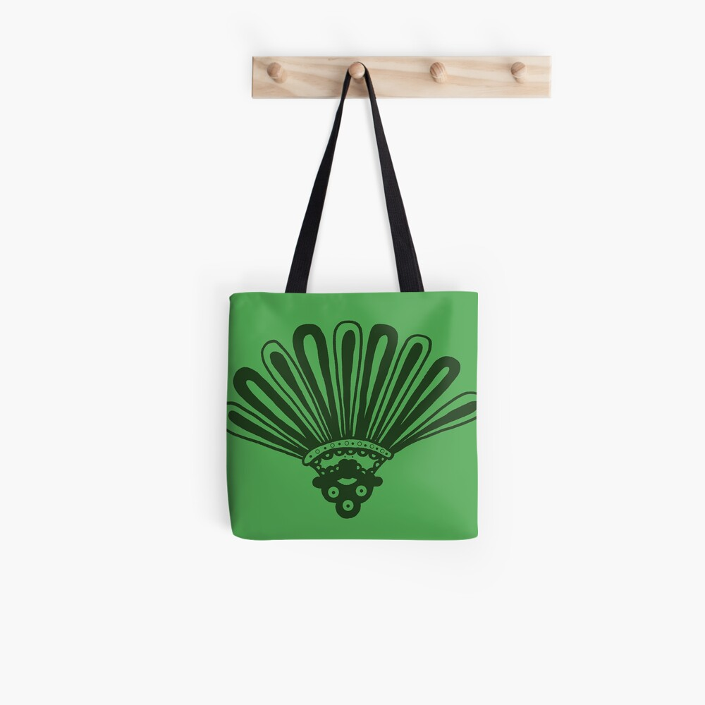 Green aztec Tote Bag