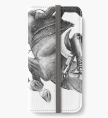 Flick - Showjumping Horse iPhone Wallet/Case/Skin