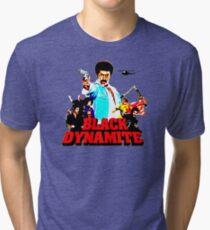 Black Dynamite Tri-blend T-Shirt