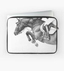 Flick - Showjumping Horse Laptop Sleeve