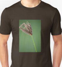 Lonely grass flower Unisex T-Shirt