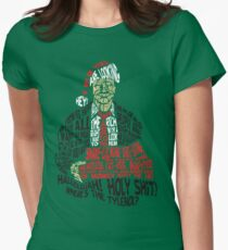 Holy Shit! Where's the Tylenol? X-Mas Women's Fitted T-Shirt