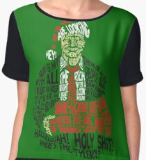 Holy Shit! Where's the Tylenol? X-Mas Women's Chiffon Top
