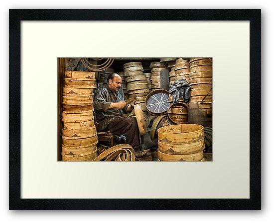 The Sieve Maker  by Michiel de Lange
