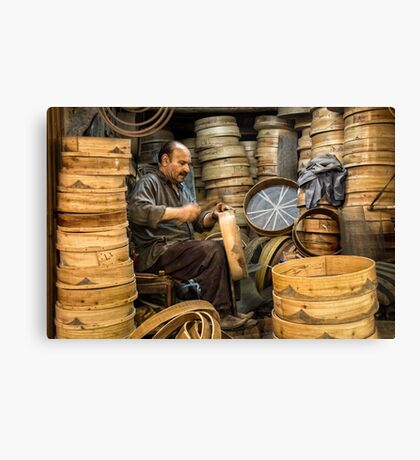 The Sieve Maker  Canvas Print