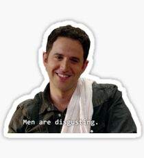 men are disgusting Sticker