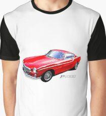 Vintage Volvo p1800 sports car Graphic T-Shirt