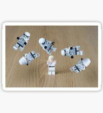 Jedi Juggle 2 Sticker