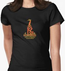 Raleigh Vintage Bicycles England Womens Fitted T-Shirt