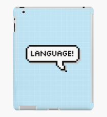 Language! iPad Case/Skin