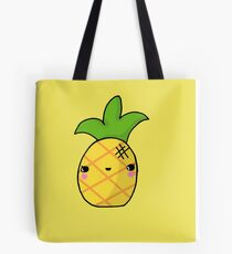 Kawaii Cute Pineapple Tropical Tote Bag