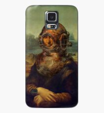 Steampunk Mona Lisa Diver's Helmet - Leonardo da Vinci Case/Skin for Samsung Galaxy