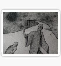 Moonlit Sticker