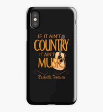 Nashville Country Music  iPhone Case