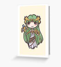 Kid Icarus- Palutena Chibi Greeting Card