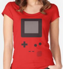 Im A Game Boy! Women's Fitted Scoop T-Shirt