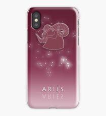 Aries Zodiac constellation - Starry sky iPhone Case