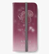 Aries Zodiac constellation - Starry sky iPhone Wallet/Case/Skin