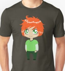 Red Headed Guy In Green Clothes T-Shirt