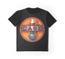 Vintage Case Tractor Eagle sign Graphic T-Shirt