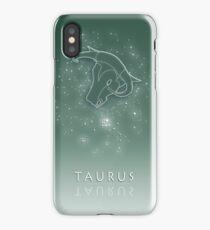Taurus Zodiac constellation - Starry sky iPhone Case