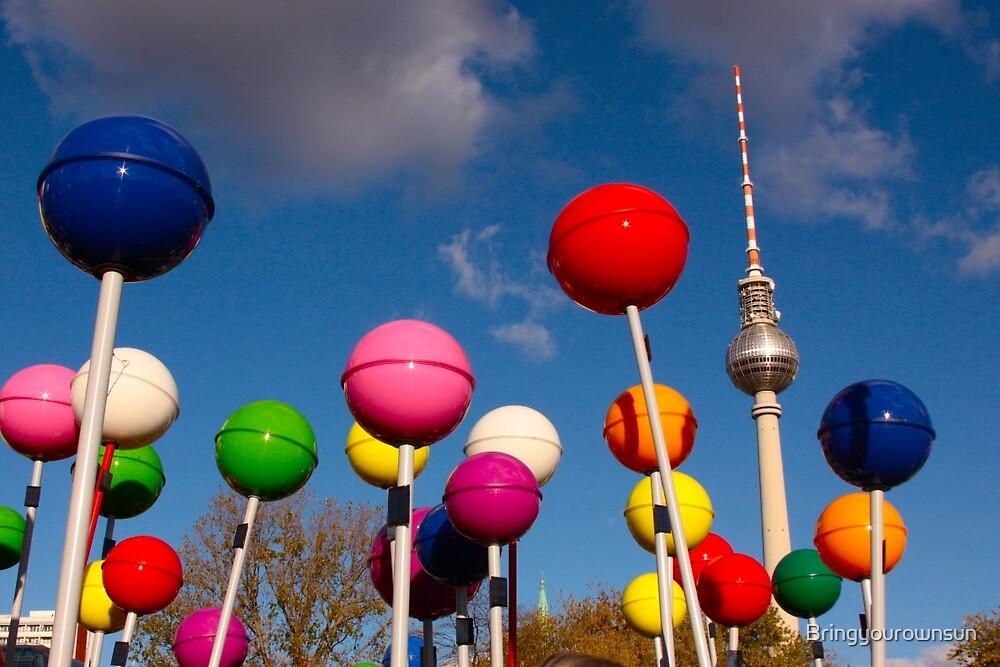 Berlin Pop by Bringyourownsun