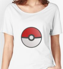 Pokemon Pokeball Women's Relaxed Fit T-Shirt