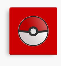 Pokemon Pokeball Canvas Print