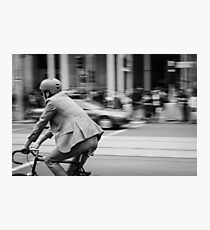 In Melbourne, We Ride! Photographic Print