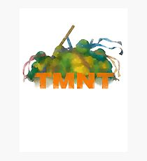tmnt Photographic Print